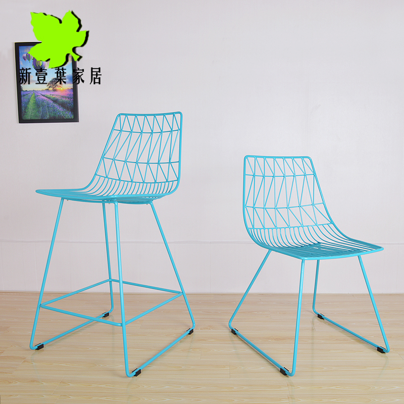 ikea metal chairs chair stools special wire mesh outdoor dining leisure modern design minimalist stainless steel in shampoo from furniture on
