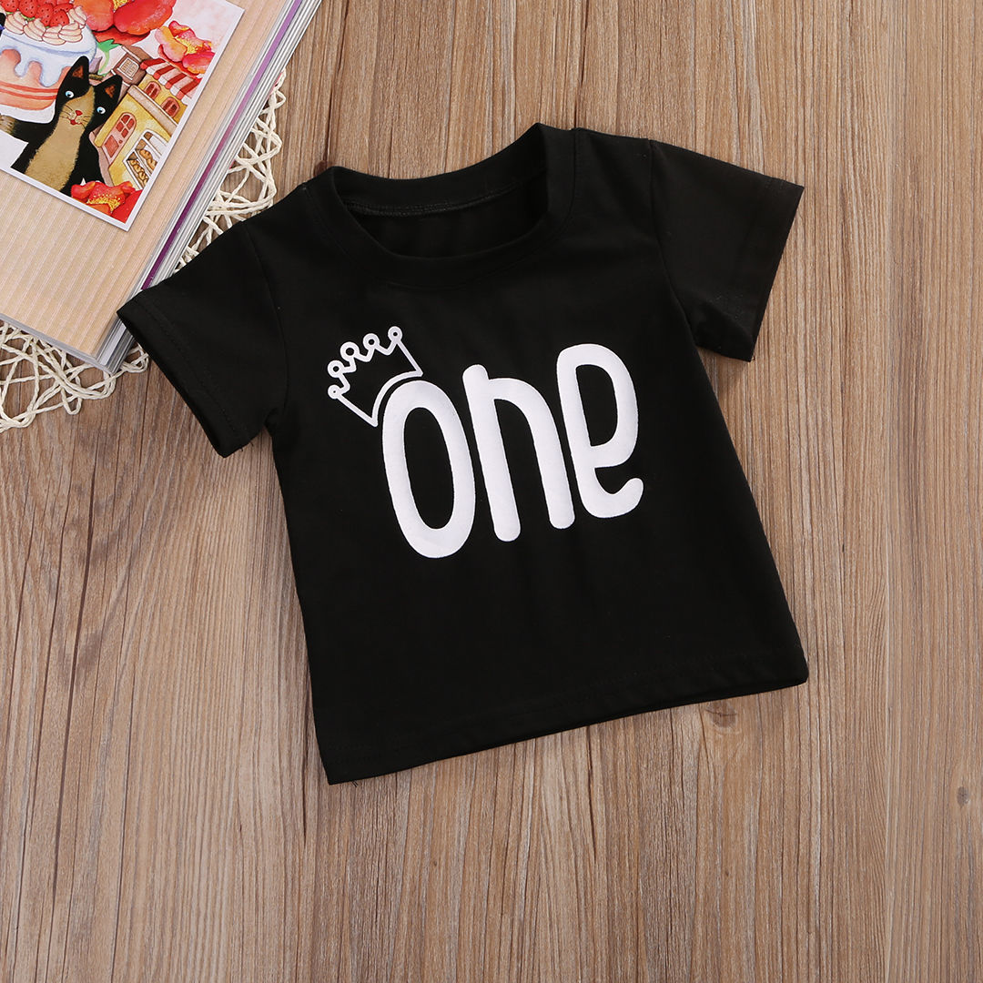 Unisex-Baby-Boys-Girls-Clothes-Short-Sleeve-Black-Letter-T-Shirt-Short-Sleeve-Cotton-Tees-Tops-T-Shirts-Clothing-0-24M-2