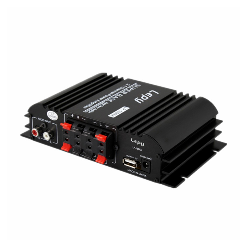 12v Small Hifi Power Amplifier 2 1 Channel Household Subwoofer Adjustment High Power Stereo Mini Audio Home Theater Amplifier