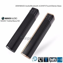 20W TV Soundbar 3D HIFI Loudspeaker Mini Portable Wireless Bluetooth Speaker 4.1 Touch Subwoofer Stereo USB Audio phone Computer