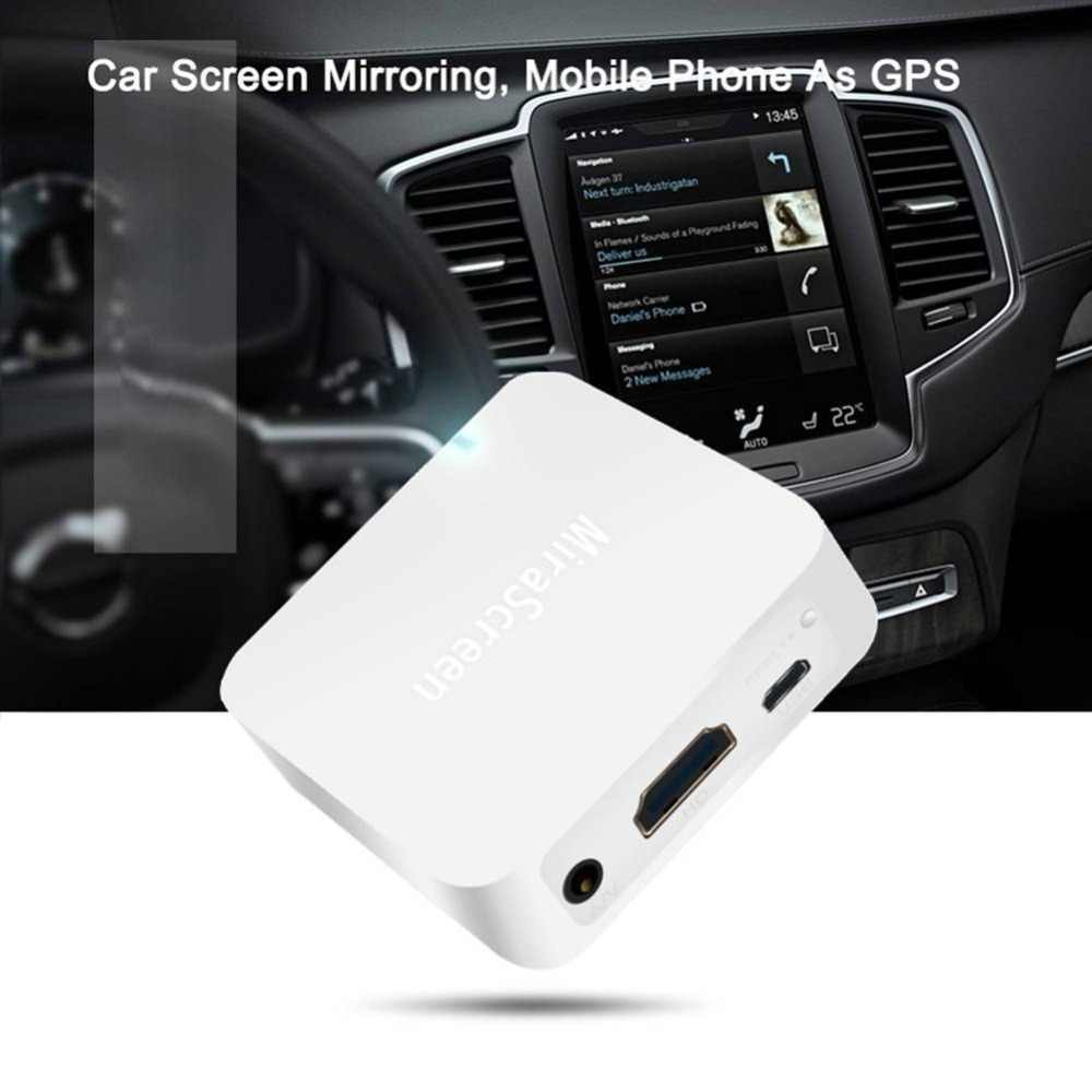 MiraScreen X7 Auto Multimedia Display Apparaat Dongle 1080 P WiFi Spiegel Box Airplay