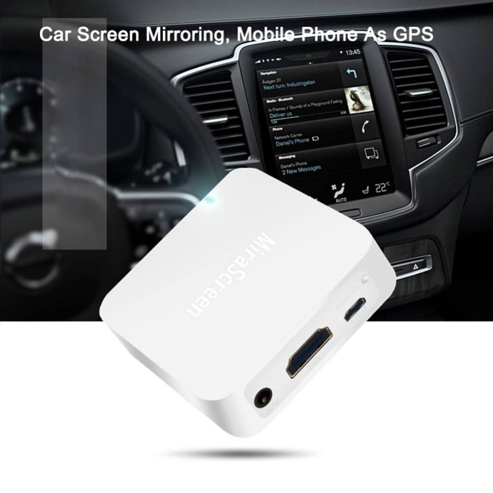 MiraScreen X7 dispositif d'affichage multimédia de voiture Dongle 1080 P WiFi miroir Box Airplay