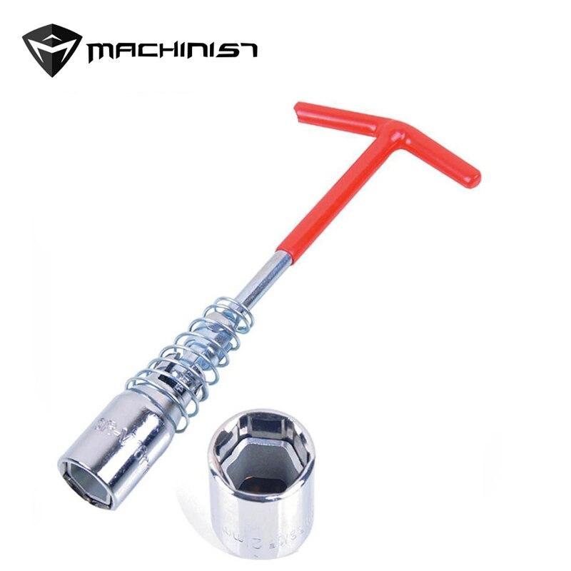 1 unid T-Manejar Universal común chispa enchufe llave removedor de instalador de 14mm/16mm/21 MM de alta calidad de uso en el hogar ahorrar esfuerzos