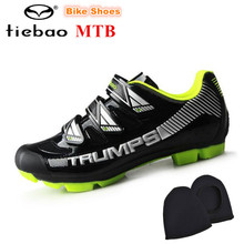 Tiebao Bike Shoes 2018 sapatilha ciclismo MTB Men sneakers Auto-lock Cycling Shoes Breathable Non-slip Mountain Bicycle Shoes