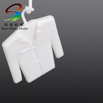 Model material scene model clothes Small white clothes furnishing articles widgets