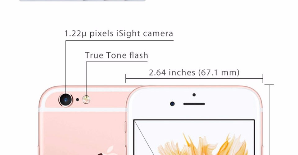 Nhân LTE iPhone 12.0MP 4