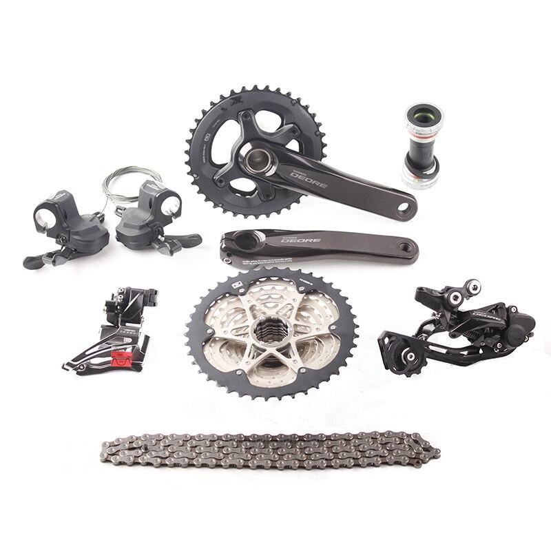 2017 nouveau!! SHIMANO DEORE M6000 2x10 s vitesse 11-42 T vtt VTT Kit vélo Groupset