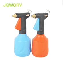 JQWORV High quality Watering cans plant irrigation Garden Home Water Spray cleaning tools adjustable Copper mist nozzle 680ml