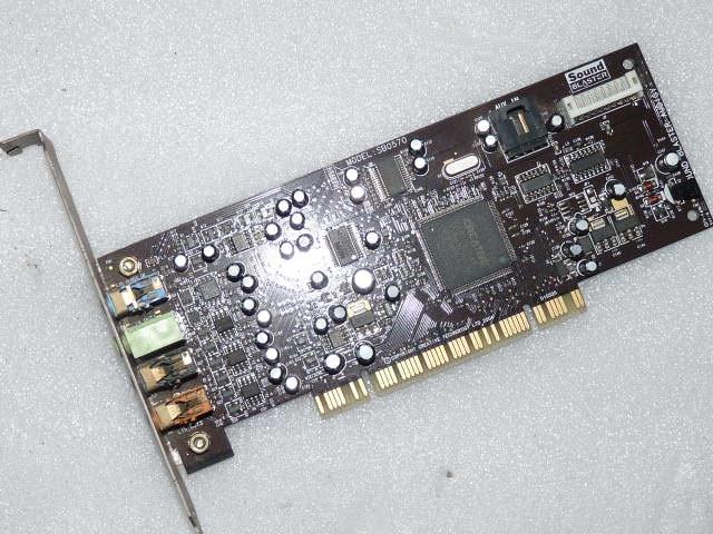 Original disassemble1PCS/LOT PCI7.1 sound card Creative Audigy SE 64-bit (SB0570) support for Win7 win8