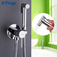 Grifos de bidé Frap, baño de latón, grifo de ducha, bidé, inodoro, pulverizador para baño, lavadora, mezclador, ducha musulmana, ducha higienica