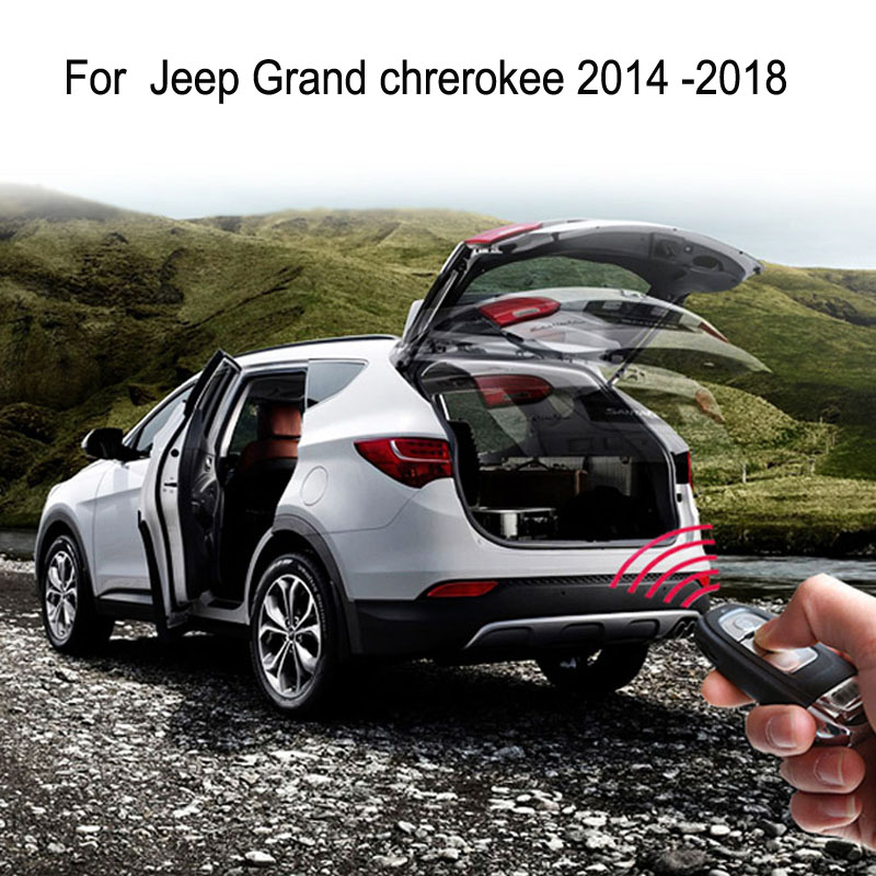 Auto Electric Tail Gate For Jeep Grand Chrerokee 2014 2015 2016 2017 2018 Remote Control Car Tailgate Lift