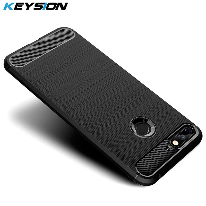 Handytaschen & -hüllen Keysion Telefon Fall Für Huawei Y6 2018 Carbon Fiber Weiche Tpu Silikon Gebürstet Anti-skid Anti-klopfen Zurück Abdeckung Für Huawei Ehre 7a Handys & Telekommunikation