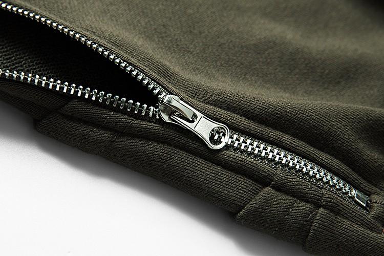 Cross Printed Hip Hop Sweatshirt Men 17Spring Streetwear Curved Hem Side Zipper Plain Mens Sweatshirts and Hoodies Man Clothes 31