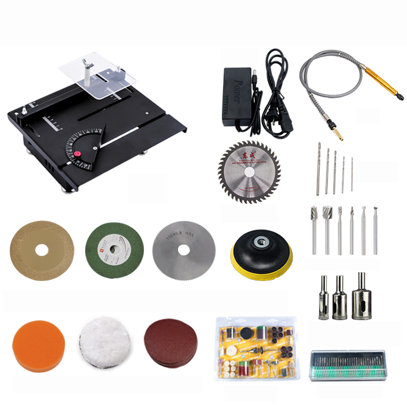 DIY mini table saw Woodworking jade electric saw Bench mill model cutting and polishing machine 7200RPM YDIY mini table saw Woodworking jade electric saw Bench mill model cutting and polishing machine 7200RPM Y