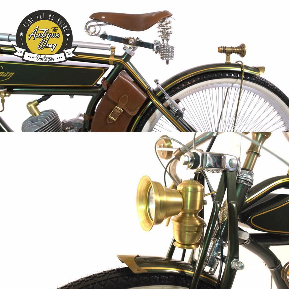 1924 handwerker 26 zoll Vintage kraftstoff fahrrad Retro booster kraftstoff fahrrad/elektrische Power fahrrad Fahrrad Zubehör