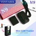 Mini Dispositivo GSM Espião escondido N9 Monitor de Escuta de Áudio Vigilância Pessoal Mini Ativação Por Voz Construído em Dois MIC