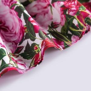 Image 5 - Beenira אירופאי ואמריקאי סגנון שמלת 2020 ילדי קיץ קצר שרוול פרח להג מסיבת שמלת עיצוב 4 14Y תינוק בגדים