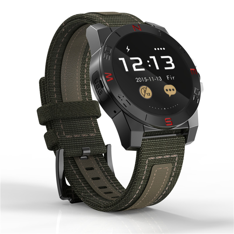 2018 Smart Watch Outdoor Sport Smartwatch Heart Rate Monitor Compass Waterproof For Android similar with Garmin Fenix3 N10B цена