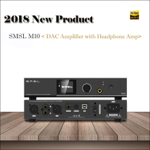 2018 Amplifier SMSL M10 Balanced Output DAC Amplifier Audio Decoder USB DAC AK4497 Amplifiers Home DSD DAC Audio Amplifier Hifi 2016 new smsl t1 multi function decoder headphone amplifier with preamplifier