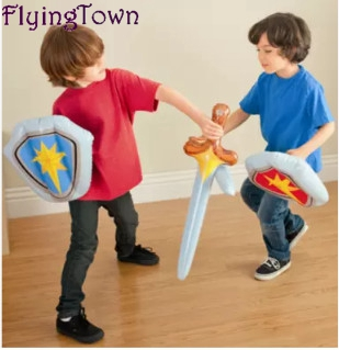 Original authentic INTEX inflatable sword of Western sword shield inflatable toys sword weapons toys boy toys