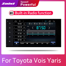 ZaiXi 2din Car multimedia Android Autoradio Car Radio GPS player For Toyota Vois Yaris 2005~2013 Bluetooth WiFi Mirror link Navi