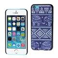 Qualidade superior azul asteca padrão tribal snap on hard case capa da pele para o iphone 5c jan10
