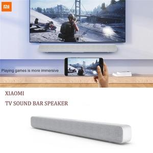 Image 2 - Originele Xiaomi Bluetooth Tv Geluid Bar Draadloze Speaker Soundbar Ondersteuning Optische Spdif Aux In Voor Thuisbioscoop