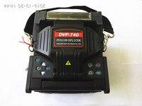 English Version DVP 740 Mini FTTH Fiber Optic Splicing Machine Fusion Splicer