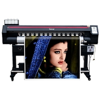 large format 1600mm sublimation printer one year warranty 1.6m digital indoor and outdoor printing machine