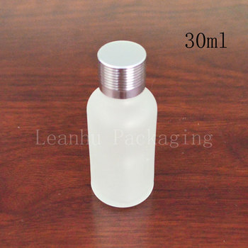 30ml natural frosted bottles of essential oils wholesale high-grade oil with threaded points bottling empty bottles
