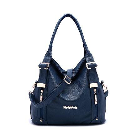 Women's fashion Genuine Leather 2017 Women's classic Cowhide Tassel Bag 4 colors vintage female shoulder bags new A11