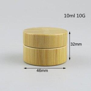 Image 4 - Копилка для косметики из натурального бамбука, 12 шт., 10 г, 30 г, 50 г