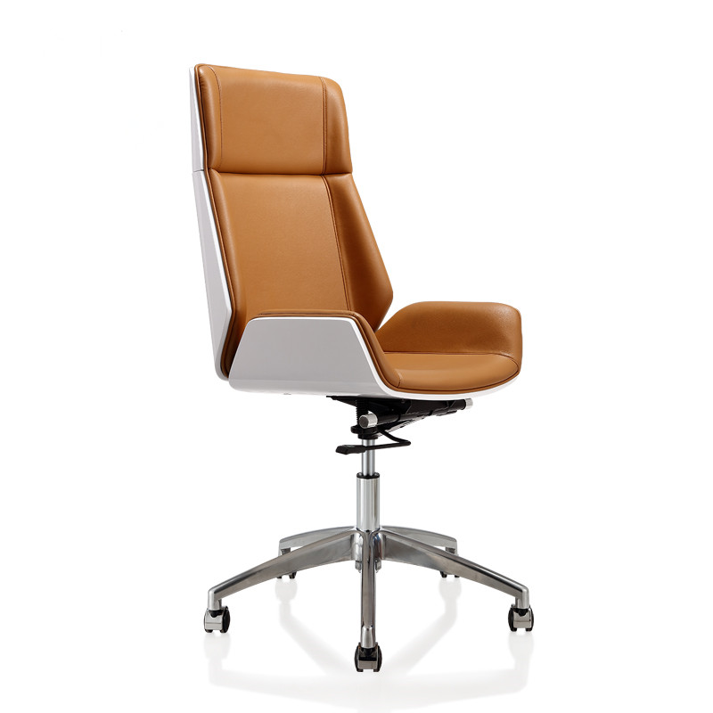 fiber furniture. High Back Bentwood Swivel Office Computer Chair Micro Fiber Leather Furniture For Home,Conference Task Armchair-in Chairs From