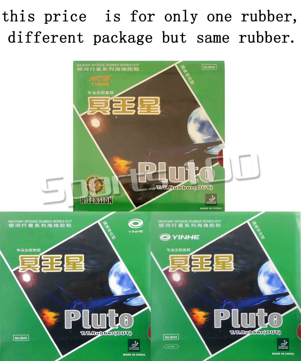 Galaxy YINHE Milky Way Pluto Half Long Pips-Out Table Tennis PingPong Rubber with Sponge