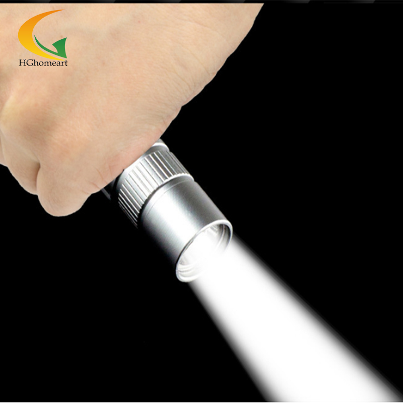 Light Aluminium Alloy Mini Flashlight Cree Led stainless Flashlight Torch High Power Led keychain With