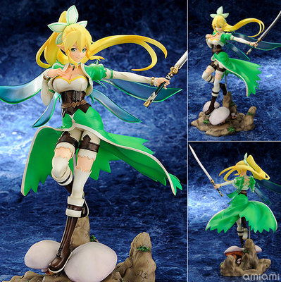 25cm Anime Pengu Leafa Sword Art Online SAO ALfheim Online Fairy dance 1/8 PVC Action Figure Collection Hand do model doll toys nendoroid anime sword art online ii sao asada shino q version pvc action figure collection model toy christmas gifts 10cm