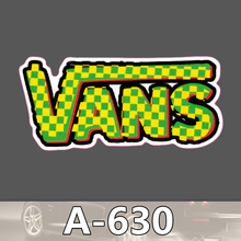 A 630 Vans Shoes Waterproof Cool DIY Stickers For Laptop Luggage Fridge Skateboard Car Graffiti Cartoon