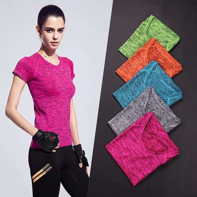 53210a9554a12 CHRLEISURE S-XL 5 Color Women Short Sleeve T-Shirt Fashion Summer Slim T