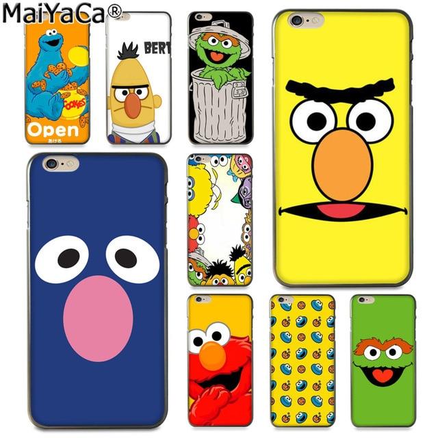 2816c6cc84 MaiYaCa Sesame Street Luxury Fashion 2D Phone Case for Apple iPhone 8 7 6  6S Plus