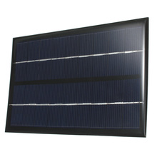 LEORY Solar Panel 9V 3W Solar Charger DIY 6V Rechargeable Battery Charger Module Epoxy Polysilicon Cells