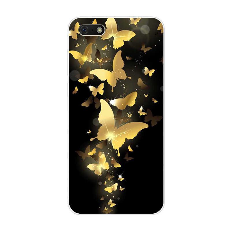 "Чехол для Huawei Honor 7 A 7A DUA-L22 5,45 ""чехол с животным рисунком мягкий чехол из ТПУ для Huawei Honor 7 A 7 A чехол для телефона задняя крышка"