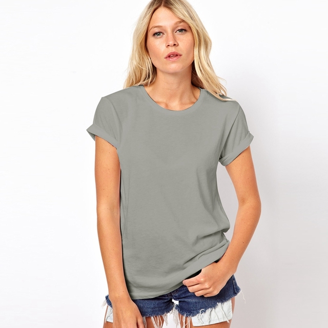 2019 New Summer Fashion Casual Women T Shirt 4