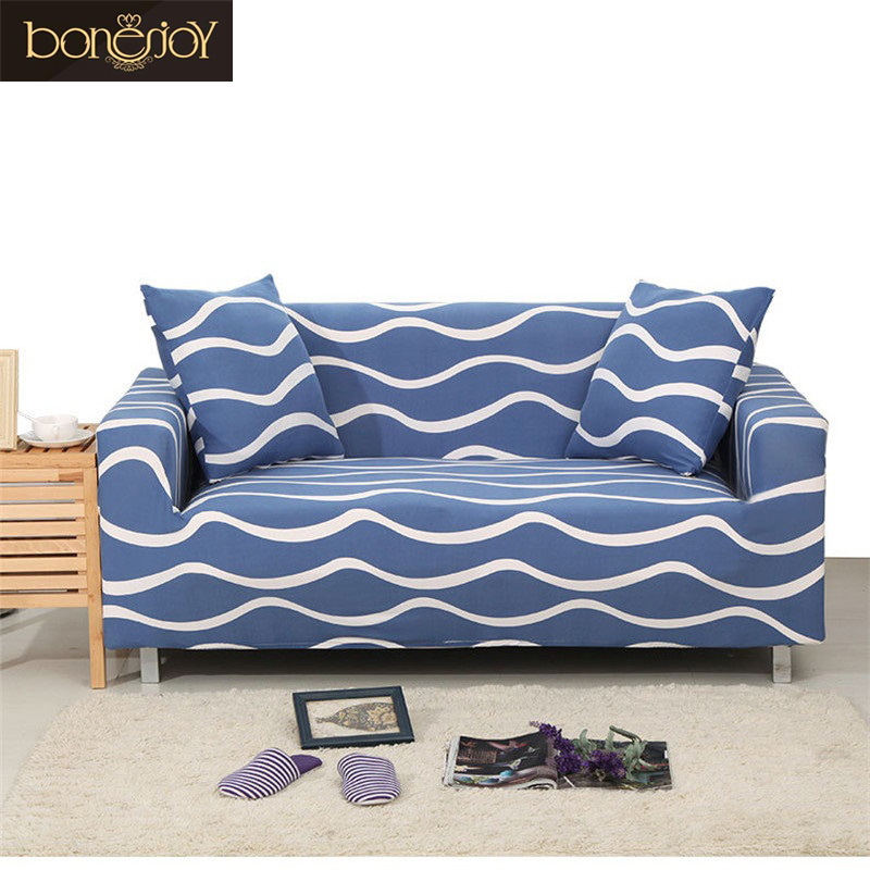 Bonenjoy Flexible Corner Sofa Cover Big Elasticity Couch Cover Single/Double/Three/Four -seat Sofa Cover For Sectional Sofa