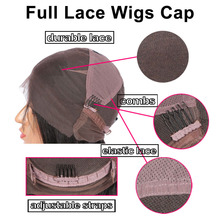 Glueless Pre Plucked Full Lace Human Hair Wigs For Black Women Brazilian Loose Deep Wave Wig Remy Hair Full Lace Wig 130%