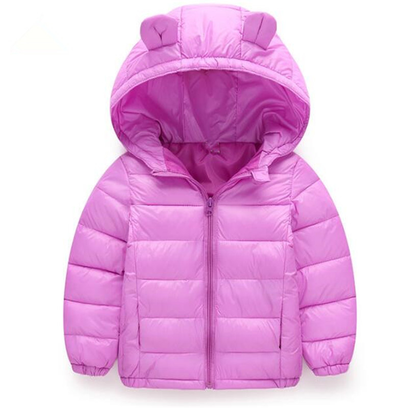 Hot Sale Kids Boys&Girls Jacket Winter Coat Warm Down Cotton Jacket for Boys Outerwear Coat Baby Clothes Thick Coat Snow Outdoor 2017 new baby girls boys winter coats jacket children down outerwear warm thick outdoor kids fur collar snow proof coat parkas