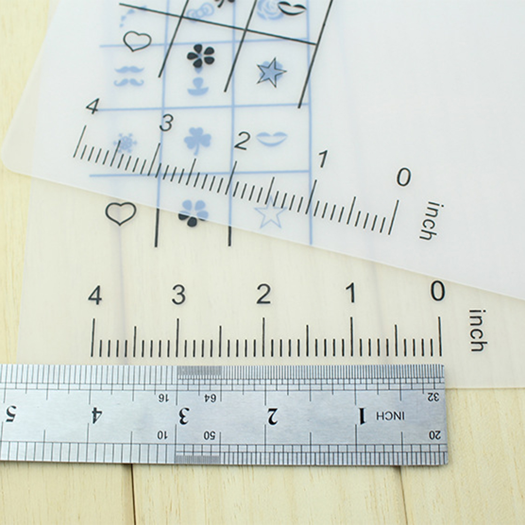 Nama produk Nail Polish Mewarnai Tikar produk Bahan Silikon produk Warna sebagai Gambar Menunjukkan produk Ukuran 40 5x30 5 cm pola A B C