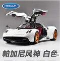 Pagani Huayra Zonda 1:18 WELLY GTA Original simulation alloy car models Collection Fast and Furious Italy Sports car