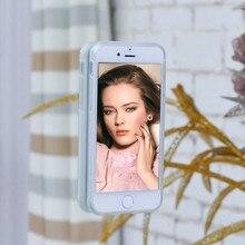 Edwo для apple iphone 5 5s se 6 6 s 7 плюс роскошный анти гравитации clear case задняя крышка волшебный selfie tech nano липкий телефон мешок