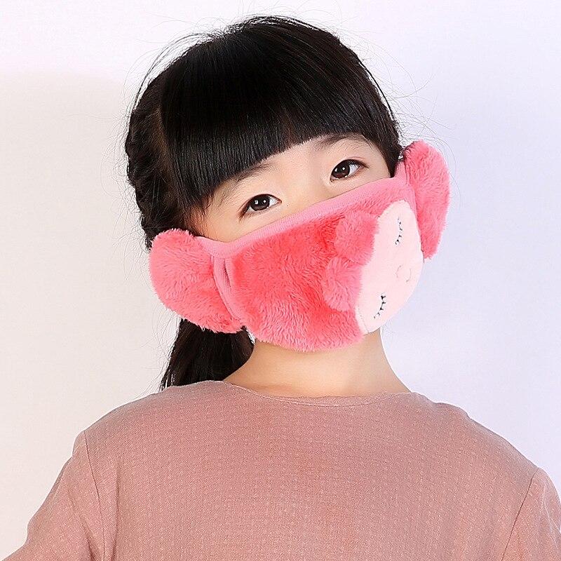 5pcs/Pack ZH Winter Face Mask Maski Dust Cotton Mouth Mask