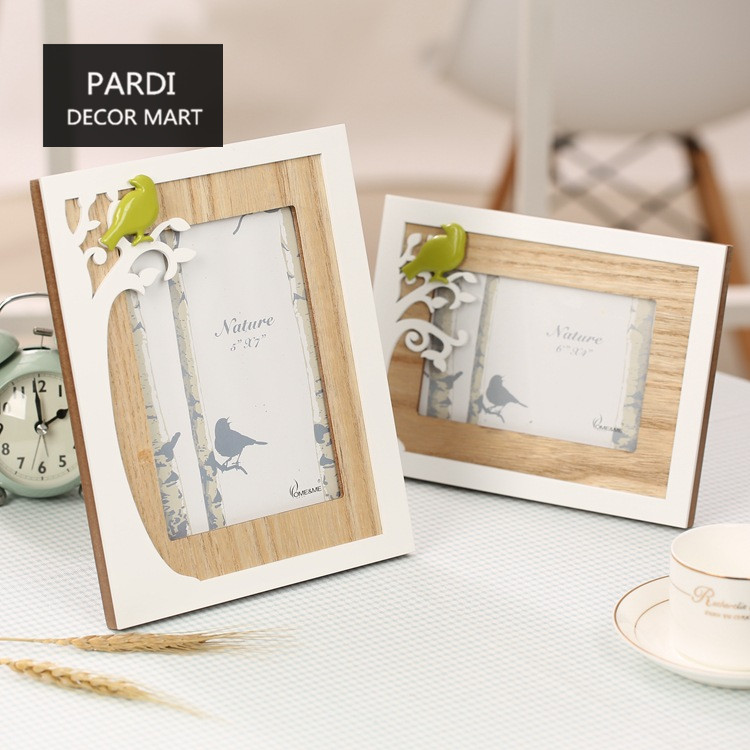 Natural view style photo frame wedding props home decoration wall ...